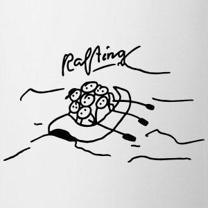 Rafting in inflatable boat T-Shirts - Mug
