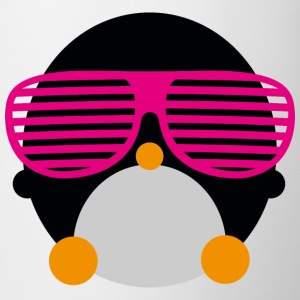 penguin glasses pingvin briller T-shirts - Kop/krus