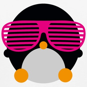 penguin glasses penguin glasögon Flaskor & muggar - Premium-T-shirt herr