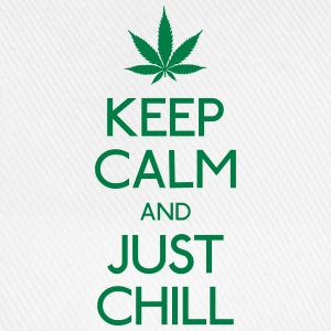 Keep Calm and just chill Pullover & Hoodies - Baseballkappe