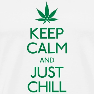 Keep Calm and just chill Bags & Backpacks - Men's Premium T-Shirt