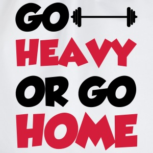 Go Heavy T-shirts - Gymtas