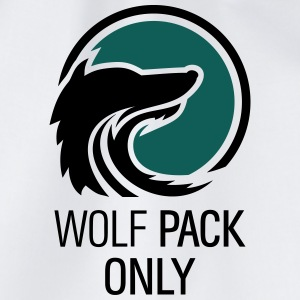 Wolfpack Only Hangover Crew mit Wolf 2c T-Shirts - Turnbeutel
