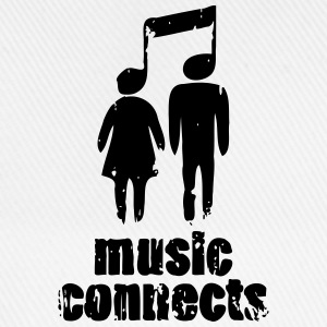 Music Connects T-Shirts - Baseball Cap