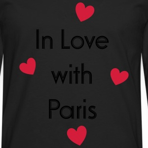 In Love With Paris T-Shirts - Männer Premium Langarmshirt