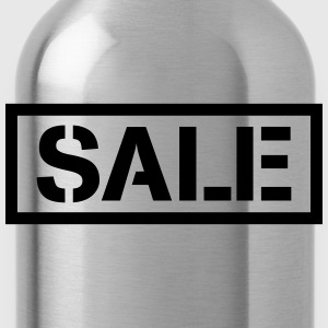 Sale percentage sale reduced price tag T-Shirts - Water Bottle