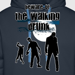 walking drunk T-Shirts - Men's Premium Hoodie
