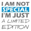Just a Limited Edition - funny quote tee shirt Hoodies & Sweatshirts - Men's Premium Hoodie