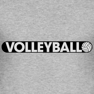 Play Volleyball Sweat-shirts - Tee shirt près du corps Homme