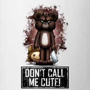Teddy - Don't Call Me Cute (Color) Tee shirts - Tasse