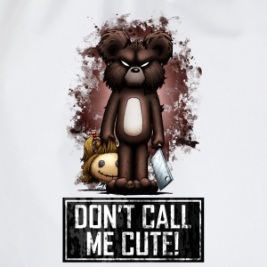 Teddy - Don't Call Me Cute (Color) Langarmshirts - Turnbeutel