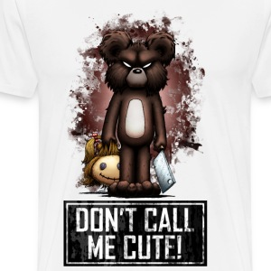 Teddy - Don't Call Me Cute (Color) Felpe - Maglietta Premium da uomo