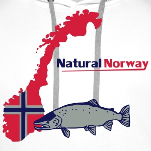 Natural Norway T-Shirts - Männer Premium Hoodie