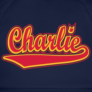 Charlie - Personalise a t-shirt with your name. T- - Baseball Cap