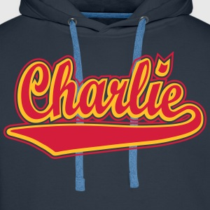 Charlie - Personalise a t-shirt with your name. T- - Men's Premium Hoodie