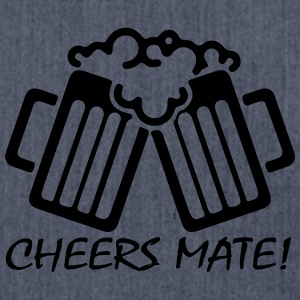 Cheers Mate! T-Shirts - Shoulder Bag made from recycled material