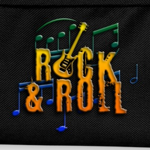 rock and roll e-guitar T-Shirts - Kinder Rucksack