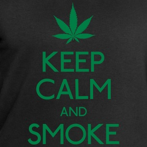 keep calm and smoke T-Shirts - Men's Sweatshirt by Stanley & Stella