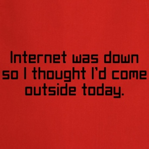 Internet Was Down Sweaters - Keukenschort