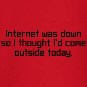 Internet Was Down T-Shirts - Baby Long Sleeve T-Shirt