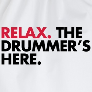 The Drummer's Here  T-shirts - Gymtas