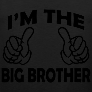 i am the big brother Shirts - Men's Premium Tank Top