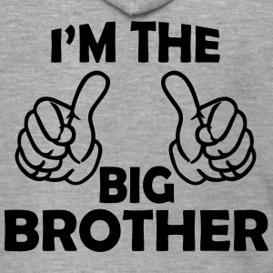i am the big brother Shirts - Men's Premium Hooded Jacket