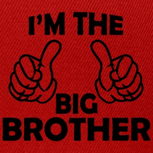 i am the big brother Long Sleeve Shirts - Snapback Cap