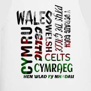 Wales , Welsh and proud nation - Cooking Apron