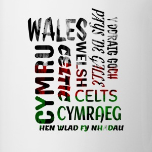 Wales , Welsh and proud nation - Mug