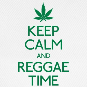 Keep Calm and Reggae bevar roen og reggae Flasker & krus - Baseballkasket