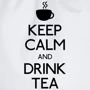 keep calm drink tea garder calme boivent du thé Tee shirts - Sac de sport léger