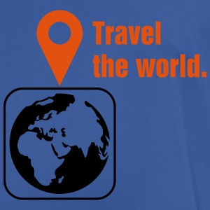 Travel the world Sweaters - mannen T-shirt ademend