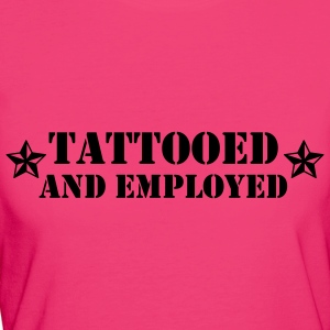 tattoed and employed Bags & Backpacks - Women's Organic T-shirt