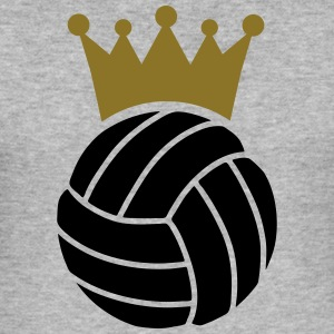 Volleyball Couronne Sweat-shirts - Tee shirt près du corps Homme