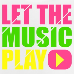 let the music play T-shirts - Baby-T-shirt