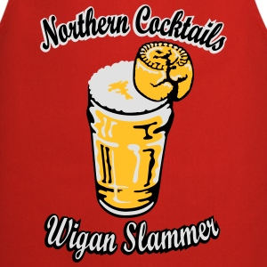 Northern Cocktail - Wigan Slammer T-Shirts - Cooking Apron