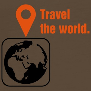 Travel the world Borse & zaini - Maglietta Premium da uomo