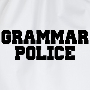 Grammar Police Hoodies & Sweatshirts - Drawstring Bag