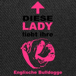 Englische Bulldogge Lady T-Shirts - Snapback Cap