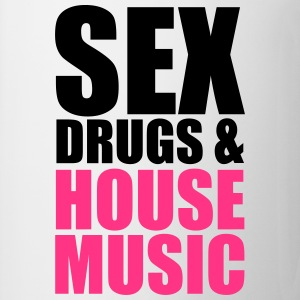Sex, Drugs & House Music T-shirts - Kop/krus