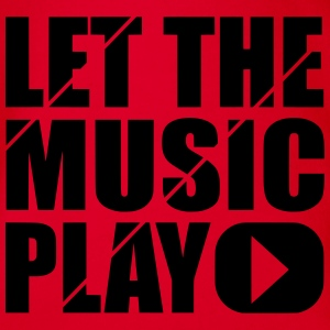 let the music play Shirts - Baby bio-rompertje met korte mouwen