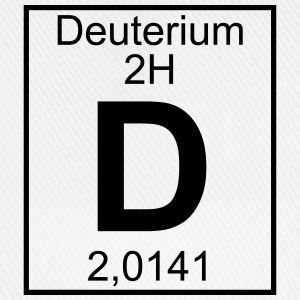 D (Deuterium) - Element 2H - pfll T-Shirts - Baseball Cap