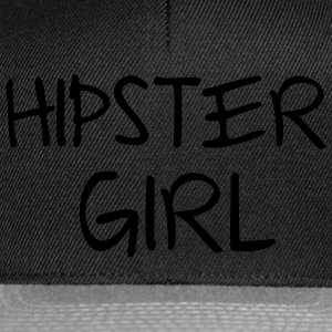 Hipster Girl Sweaters - Snapback cap