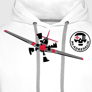 avion Tee shirts - Sweat-shirt à capuche Premium pour hommes