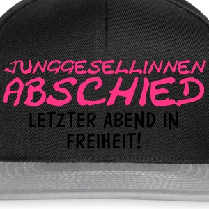 Junggesellinnenabschied - Letzter Abend... T-Shirts - Snapback Cap