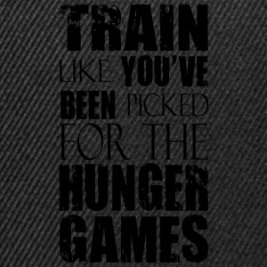 Train Like You've Been Picked for the Hunger Games T-Shirts - Snapback Cap