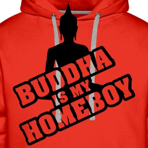 Buddha is my homeboy T-Shirts - Männer Premium Hoodie