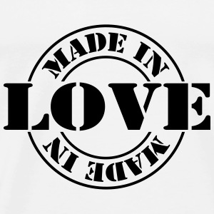 made_in_love_m1 Gensere - Premium T-skjorte for menn