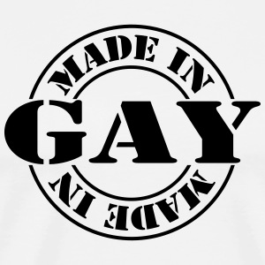 made_in_gay_m1 Delantales - Camiseta premium hombre